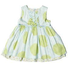 ROOM SEVEN GREEN DIORA POLKADOT DRESS 4T 104