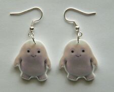 From The  BBC TV Show Dr Who Adipose Babies  Earings