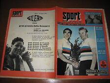 SPORT ILLUSTRATO 1954/35 PUBBLICITA' GILERA DUKE MONDIALI MESSINA FAGGIN @