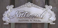 "TOP SIGN CASH REGISTER ""NATIONAL"" 313 SIZE  8 1/8"" C-C HOLES"