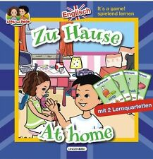 Englisch spielend lernen Zu Hause At Home m. 2 Lernquartetten f. d. Grundschule