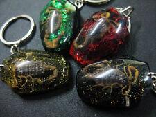 4pcs charming Real nice scorpion-King  mix Vase Design magic key-chains HOT4#