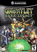 Gauntlet Dark Legacy Nintendo GameCube, 2002 Includes Instruction Booklet