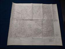 Landkarte 1:100000 Großblatt 92 Guhrau - Wohlau - Rawitsch in Schlesien, 1940