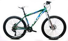"""2014 26"""" Fuji Tahoe 1.5 17"""" Hardtail Mountain Bike Shimano XT 2 x 10s NOS New"""