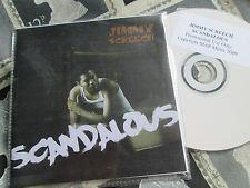 Jimmy Screech – Scandalous Label: Map Music  – PROMO CDr Single