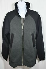 Lululemon Both Ways Black Gray Reversible Reflective Jacket Women 8 Medium $198