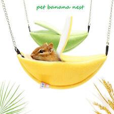 Pet Toys Hammock Nest banana Hanging Bed Cage Ferret Hamster Rat Birds SquirreBw