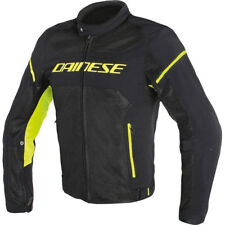 GIACCA DAINESE AIR FRAME D1TEX  NERO GIALLO FLUO TG.48