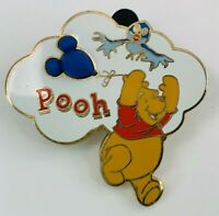 WDW - Mickey Shaped Balloon Free-D Series Winnie the Pooh Disney Pin 13530