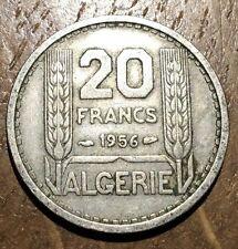 PIECE DE 20 FRANCS TURIN  ALGÉRIE 1956 (121)