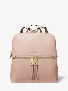 NWT Michael Kors Rhea Slim Medium Leather Backpack