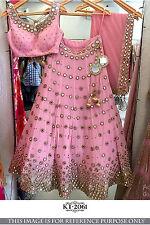 Lehenga Choli Designer Wedding Party Wear Indian Ethnic New Latest Baglori Silk