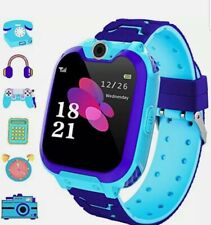 Smart Watch Phone for Kids Dial Touch Screen Camera Games Music Recording Girl