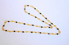22k Carat gold plated chain elegant necklace sets fashion JEWELRY 24 in  u30C