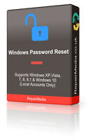 Windows Password Recovery Reset Remove Boot DVD XP Vista 7 8/8.1 & 10 (32/64bit)