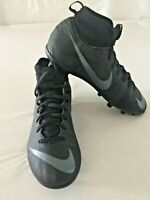 Nike Mercurial Size 5 Soccer Cleats Black