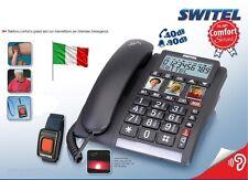 TELEFONO TASTI GRANDI ANZIANI SOS SALVAVITA TELEALLARME TELESOCCORSO VIVAVOCE