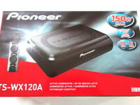 Pioneer TS-WX120A Car Compact Active Amplified Subwoofer System 150W (50W RMS)