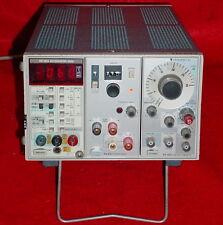 Tektronix TM-503, DM-502A Autoranging DMM, FG-503 Function Generator, PS-501