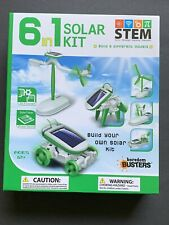 6 In 1 Solar Power Vehicles Kit Stem Project Models New Open Box