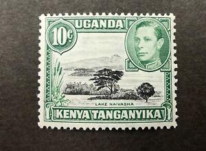 KENYA UGANDA TANGANYIKA 10C MOUNTAIN RETOUCH VARIETY