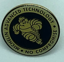 Vintage Michelin Man Lapel Pin Multiple Advanced  Technology No Compromise