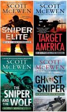 Sniper Elite Series Collection Set Books 1-4 by Scott McEwen Brand New