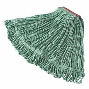 "Rubbermaid D21306GR00 Large Blend Mop Head w/ 1"" Headband - Green"