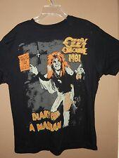 OZZY OSBOURNE XL DIARY OF A MADMAN MENS BLACK T-SHIRT