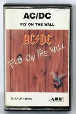 """AC/DC - """"FLY ON THE WALL"""" - ALBERT AUSSIE CASSETTE TAPE"""