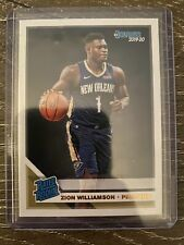 Zion Williamson 2019-20 Panini Donruss #201 Rated Rookies Rookie Card