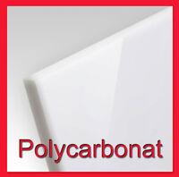 Polycarbonat Platte 4mm Milchglas (weiß-opal) PLEXIGLAS gebraucht 12€/m²