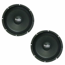 Lot of (2) Pyramid WH8 8-Inch 200 Watt High Power Paper Cone 8 Ohm Subwoofers