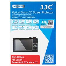 JJC Optical Glass LCD Screen Protector for Canon Powershot G7X Mark III G7X3