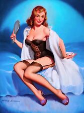 1940s Pin-Up Girl My Assets Picture Poster Print Vintage Art Pin Up