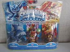 Skylanders Spyro's Adv. (Whirlwind, Double Trouble, Drill Sergeant) - NEU & OVP