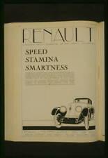 Photo:Advertisement for Renault automobiles,Vanity Fair,1926 4456