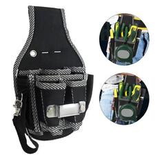 Electrician Waist Pocket Belt Tool Pouch Bag Screwdriver Utility Kit Holder