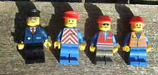 * TRENO LEGO MINIFIGURES: 4 FERROVIERI
