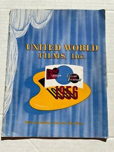 1956 Universal International Movie Catalog with 50 Pages of Movies