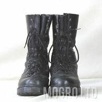 Genuine Austrian Steinkogler Mountain Black Leather Combat Boots