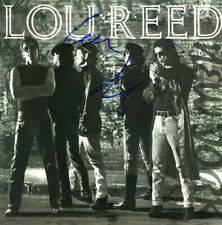 Lou Reed New York signed vinyl record, Fuller signature from the earl7 90's,
