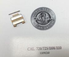 2 x Ersatzglied LINK 14MM DAU Omega Constellation Stahl / Gold 750 REF.:12922300