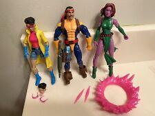 Marvel Legends Jubilee, Forge, And Blink Figure Set Hasbro X-Men