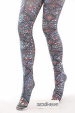 ST-10 Kirchenfenster Bunt Church Lolita Tattoo Strumpfhose tights Harajuku Japan