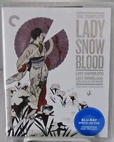 Complete Lady Snowblood (Blu-Ray, Criterion Jan-2016) 1973 Japanese Mystery