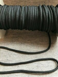 POLYESTER CORD - 4mm - Various Colours - Anoraks, Joggers - 5 Metre Length