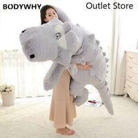 Big Size Crocodile Plush Pillow Mat Plush Soft Stuffed Animal Toy Cartoon Plush