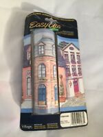 NEW Easy Ups Self Adhesive Wallpaper # 375803090 Village Border 5 Yards Houses